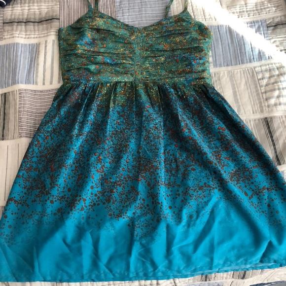 Roxy Dresses & Skirts - Blue and Green Roxy sundress!